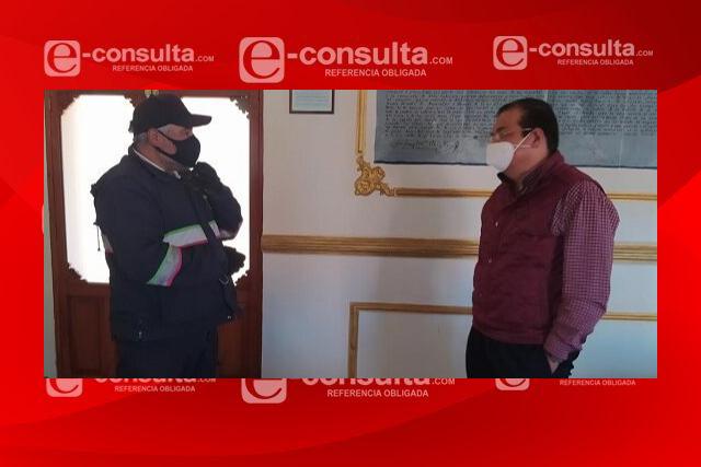 Reconoce alcalde de Huamantla a personal del servicio postal mexicano