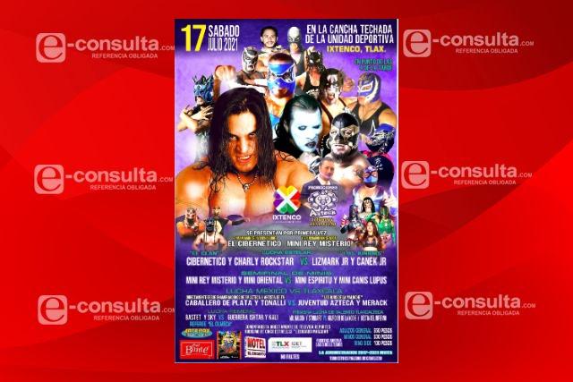 En Ixtenco se realizará un evento de lucha libre profesional