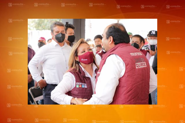 Voto masivo para Morena pide Javier Quiroz en el distrito 14