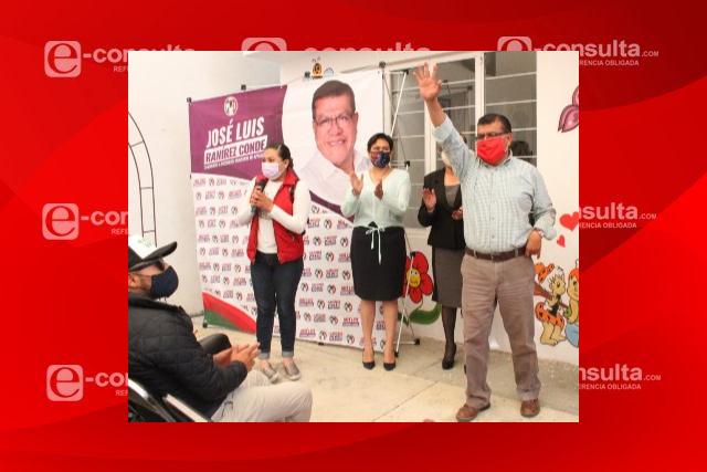 En Apizaco bajará el predial y las tarifas de agua, dice Ramírez Conde