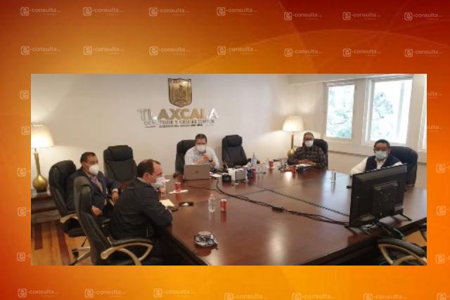 Marco Mena participa en videoconferencia con SEP y gobernadores