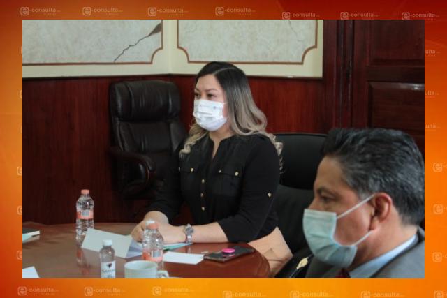 Encabeza alcaldesa capitalina reunión de evaluación del Consejo Municipal de Seguridad