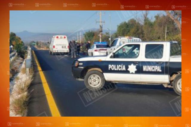 Pierde la vida motociclista sobre autopista Tlaxcala-Texmelucan