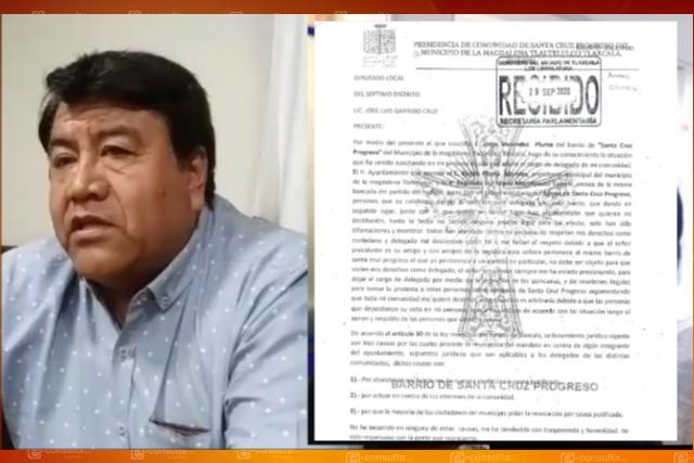 Le sale lo rudo al Picapiedra y quiere destituir a presidente de comunidad