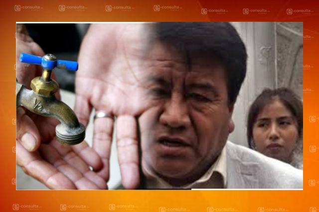 Dejan sin agua a pobladores de Tlaltelulco;  Picapiedra anda en campaña