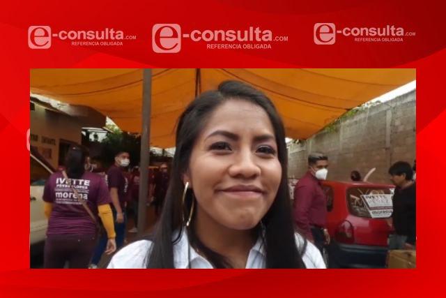 En Quilehtla la nueva alcaldesa será Ivette Pérez; pronostican triunfo inapelable