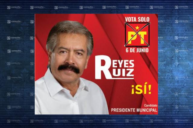 Promete Reyes Ruiz terminar con la corrupción y excesos de gobiernos panistas
