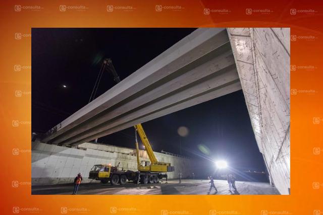 Avance de 80% registra puente vehicular en comunidad de Atlihuetzia