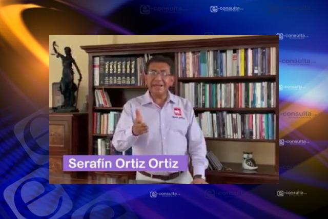 Hoy iniciará Serafín Ortiz su aventura por convertirse en alcalde capitalino