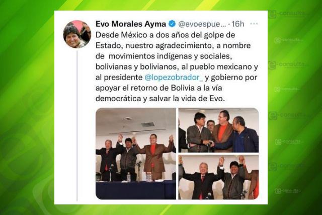 Garay se reúne con Evo Morales y coinciden en el respeto a la democracia