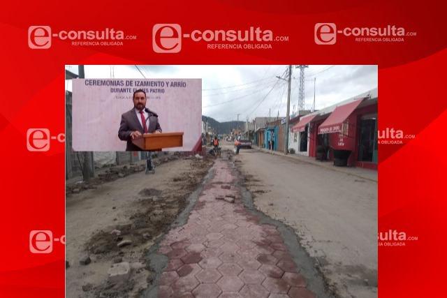 Presidente priista ofrece obras de asco en San José Teacalco: Ciudadanos