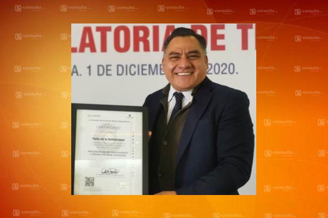 Recibe municipio de Tetla de la Solidaridad recertificación SARE