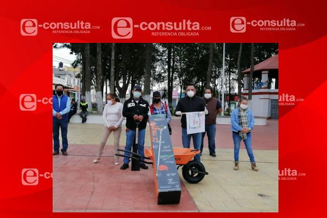 Habrá empleo temporal en el 2021 en Tetla de la Solidaridad