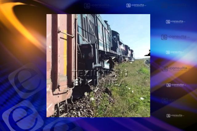 Descarrilan  tren en municipio de Zitlaltepec para robar mercancía