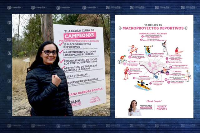Celebra Viviana Barbosa que adversarios traten de imitar sus propuestas