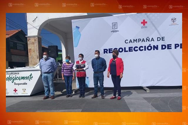 Arranca campaña de recolección de PET en Xicohtzinco