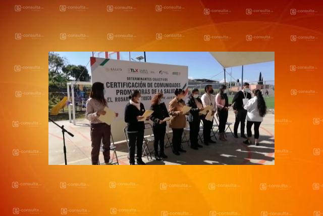 Certifican como comunidad saludable a El Rosario Ocotoxco – Yauhquemehcan