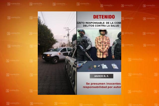 Aseguran un inmueble por acopio y venta de droga en Zacatelco