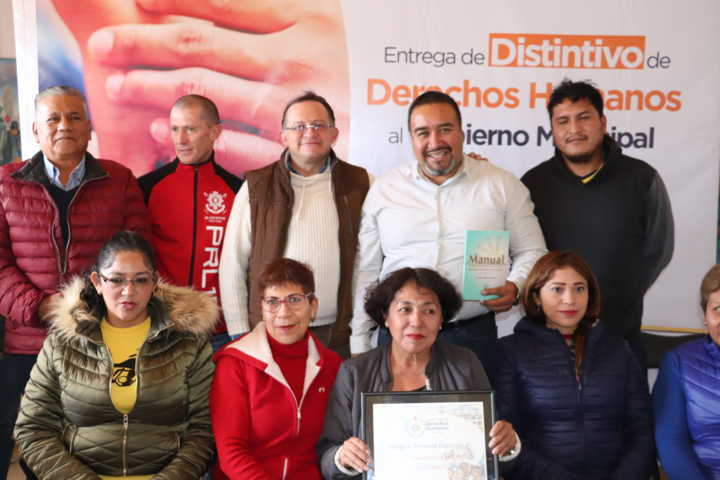 Recibe Xicohtzinco certificación en Derechos Humanos