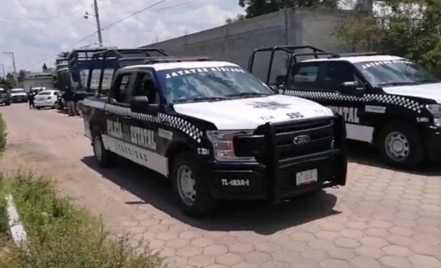 Policía localiza en Santa Isabel Xiloxoxtla un tráiler robado