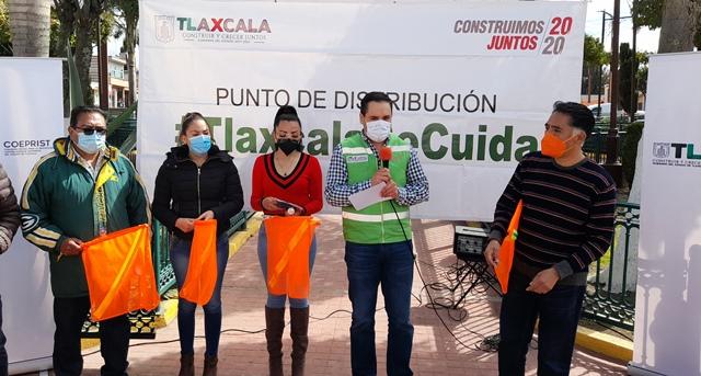 En Papalotla arranca la campaña estatal Tlaxcala Se Cuida