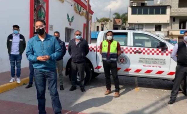 Papalotla estrena unidad para la coordinación de Protección Civil