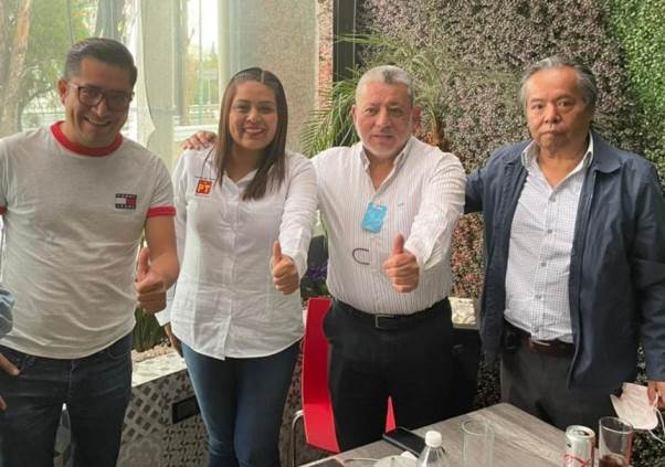 Inicia fuga Morenista, el PT recibe en Chiautempan al primer inconforme
