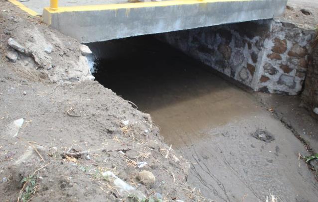 Con puentes vehiculares se evitaron inundaciones en Totolac