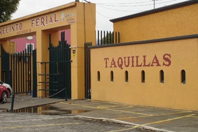 Recinto Ferial de Tlaxcala sede del Festival Internacional Cervantino