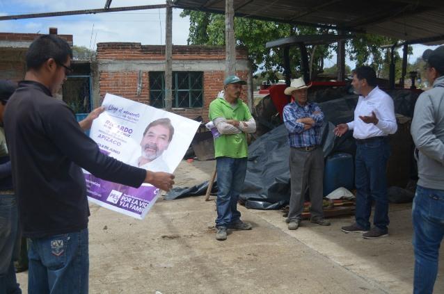 Va Ricardo Morales por mejoramiento de caminos y rehabilitación de carreteras
