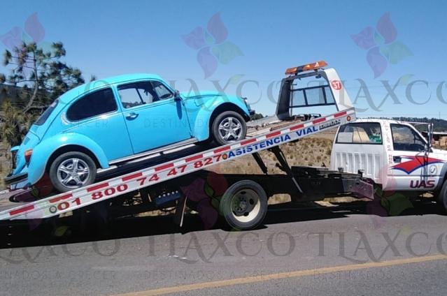 Policía de Tlaxco recupera vehículo con reporte de robo
