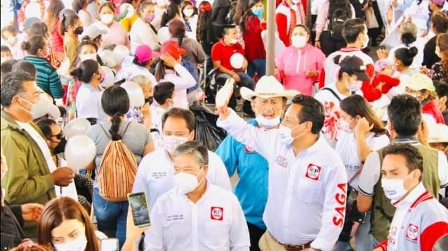 SAGA y Alfredo Vélez continúan con sumando de voluntades en Tequexquitla