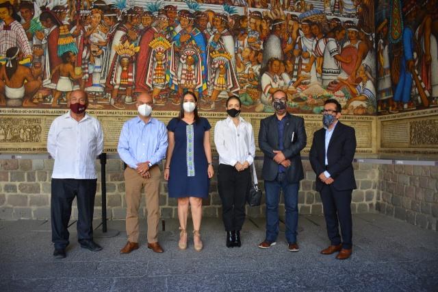 Acuerdan Tlaxcala y Puebla fortalecer y reactivar el turismo en la región