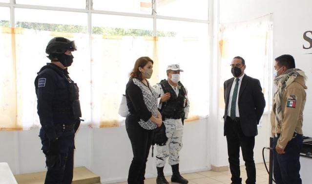 Acuerdan fortalecer filtros de seguridad en el municipio de Xiloxoxtla