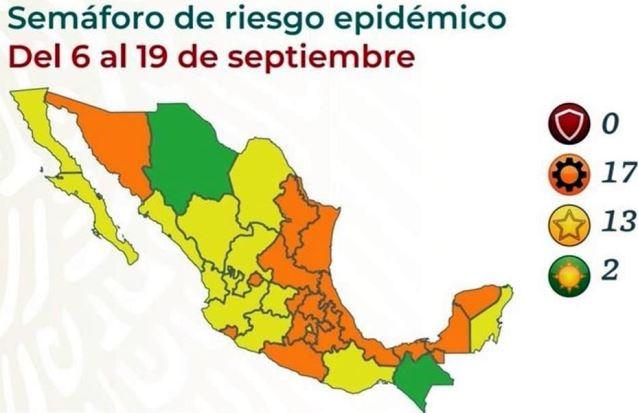 Tlaxcala llegará a las fiestas patrias en color naranja