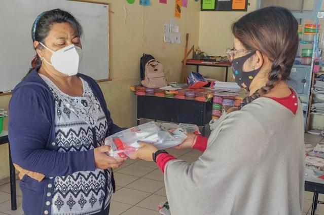 Avanza en Tlaxcala la distribución de útiles escolares