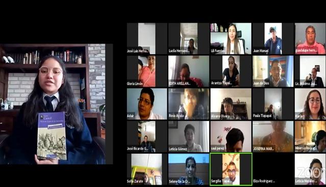 Clausuran primer coloquio virtual de Lectura en Voz Alta