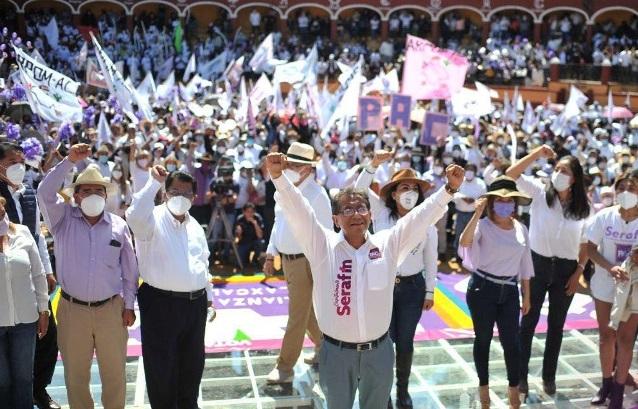 Serafín Ortiz muestra fortaleza y se consolida como perfil fuerte para la capital