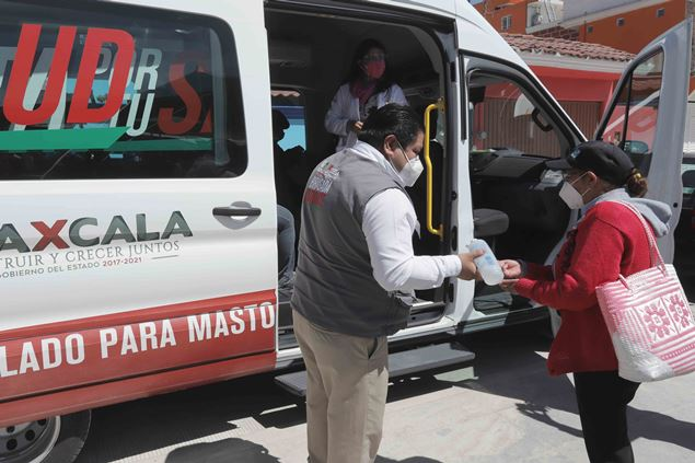 Ofrece servicios médicos gratuitos Ruta por tu Salud en Zacualpan