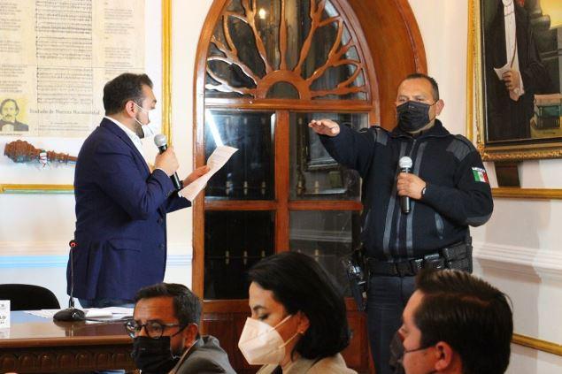 Cabildo de Huamantla ratifica al Secretario del Ayuntamiento, jueces y cronista
