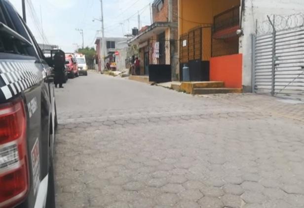 Flamazo provoca quemaduras a una persona en Tlaxcala capital