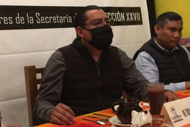 Tomás Osorio denuncia influyentísimo en SNTSS Sección 27