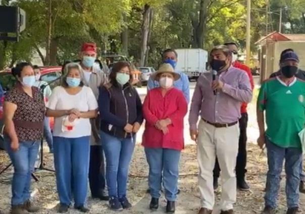 En Totolac inicia obra de agua potable en calle Rivereña del Riachuelo