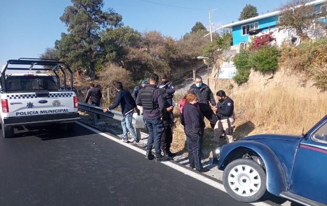 Seguridad Pública de Totolac da pronta respuesta a dos acciones emergentes