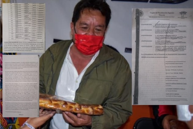 Se ampara Ravelo Zempoalteca; alteró facturas y causó daño patrimonial
