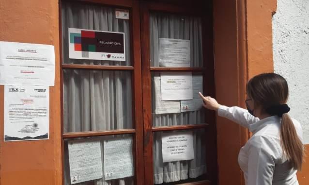 Mantiene Ayuntamiento de Tlaxcala trámites esenciales de registro civil