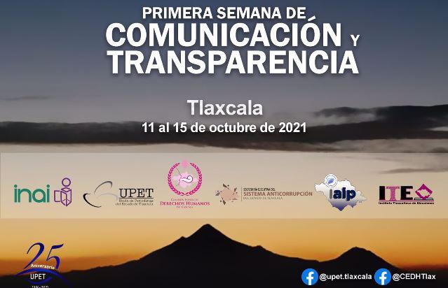 Anuncia UPET actividades de la Semana de Comunicación y Transparencia