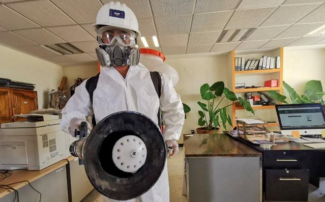 Mantiene la Sepe espacios seguros y desinfectados