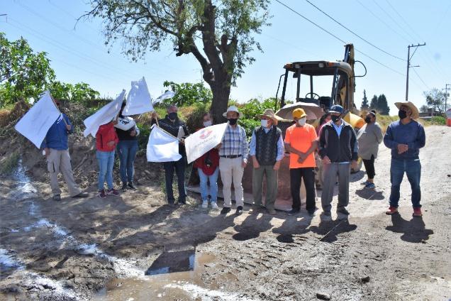 Inician trabajos de construcción de puente vehicular en Zacatelco