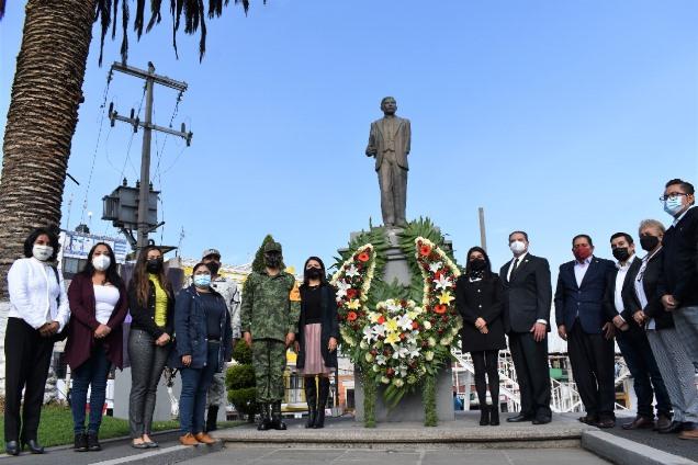Conmemora Zacatelco 133 Aniversario del Natalicio del General Domingo Arenas
